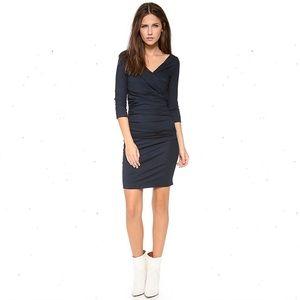 Diane Von Furstenberg Bentley Short Dress Blue